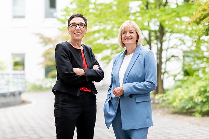 Geschäftsführung Köln: Martina Würker und Sabine Mendez