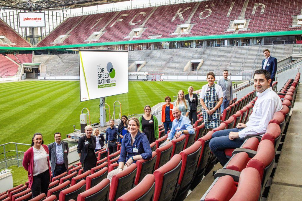JSD 2020: Jobcenter Köln Team auf der Tribüne