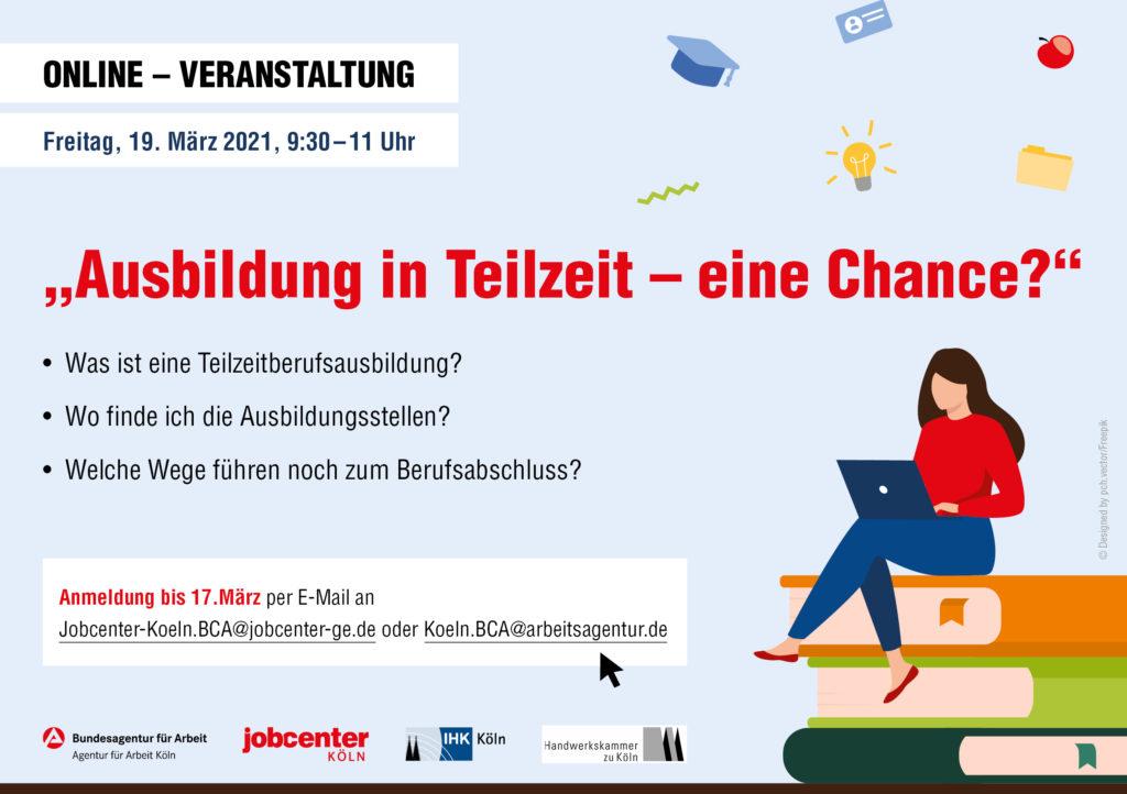 Flyer Online-Veranstaltung